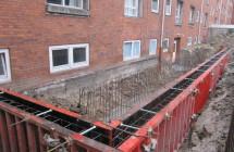 Etablering af ny rampe, valby
