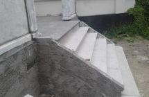 Etablering af ny trappe