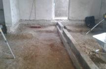 Ny bærende bjælke for nyt gulv